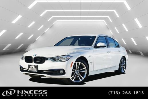 2017 BMW 3 Series 330e iPerformance MSRP $50,535! Houston TX