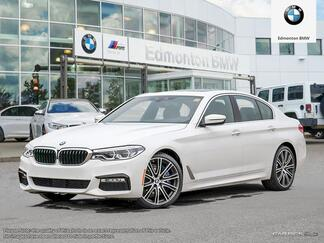 2017_BMW_5 Series_xDrive Sedan_ Edmonton AB