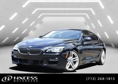 BMW 6 Series 640i Gran Coupe 7K Miles M Sport Msrp $90745! 2017