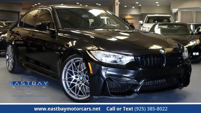 2017_BMW_M3_Competition Pkg * Driver Assistance Pkg **_ San Ramon CA
