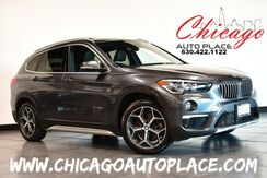 2017_BMW_X1_xDrive28i- 2.0L TWINPOWER TURBO 4-CYL ENGINE ALL WHEEL DRIVE 1 OWNER NAVIGATION BACKUP CAMERA PARKING SENSORS BLACK LEATHER HEATED SEATS KEYLESS GO PANO ROOF POWER LIFTGATE_ Bensenville IL