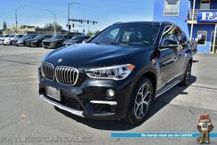 2017_BMW_X1_xDrive28i / AWD / Automatic / Heated Leather Seats / Heated Steering Wheel / Keyless Entry & Start / Navigation / Sunroof / Bluetooth / Back Up Camera / Cruise Control / 31 MPG / 1-Owner_ Anchorage AK