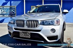 2017_BMW_X3_xDrive28i AWD / Heated Leather Seats / Navigation / Panoramic Sunroof / Bluetooth / 1-Owner_ Anchorage AK