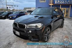 2017_BMW_X5 M_/ AWD / Heated & Cooled Leather Seats / Heated Steering Wheel / HUD / Adaptive Cruise Control / Lane Departure & Blind Spot / Bang & Olufsen Speakers / Panoramic Sunroof / Bluetooth / Back Up Camera / Keyless Entry & Start_ Anchorage AK