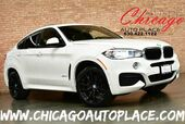 2017 BMW X6 M-SPORT PACKAGE - 3.0L INLINE 6 TURBOCHARGED ENGINE ALL WHEEL DRIVE NAVIGATION BACKUP + TOP VIEW CAMERAS BLACK LEATHER HEATED SEATS PANO ROOF KEYLESS GO