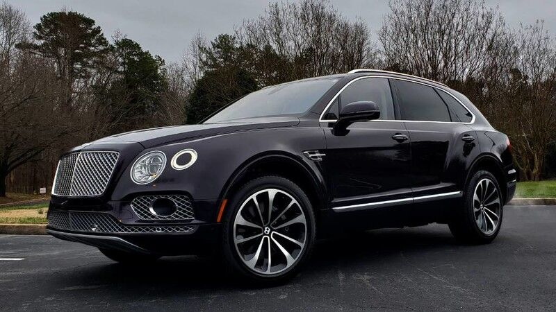 2017 Bentley Bentayga W12 / NAV / SUNROOF / CAMERA / LANE KEEP ASST Charlotte NC