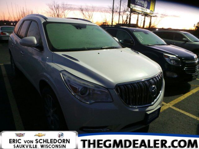 2017 Buick Enclave Leather FWD TraileringPkg w/Nav HtdMemLthr IntelliLink RearCamera Milwaukee WI