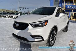 2017_Buick_Encore_Premium / AWD / Turbocharged / Heated Leather Seats / Heated Steering Wheel / Auto Start / Sunroof / Navigation / Bose Speakers / Blind Spot & Lane Depart Alert / Back Up Camera / Keyless Entry & Start / 1-Owner_ Anchorage AK