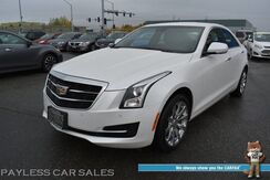 2017_Cadillac_ATS Sedan_Luxury / AWD / Auto Start / Power & Heated Leather Seats / Navigation / Blind Spot Alert / Bluetooth / Back Up Camera / 30 MPG / 1-Owner_ Anchorage AK