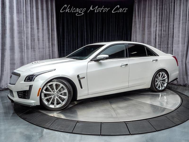 2017_Cadillac_CTS-V Sedan__ Chicago IL