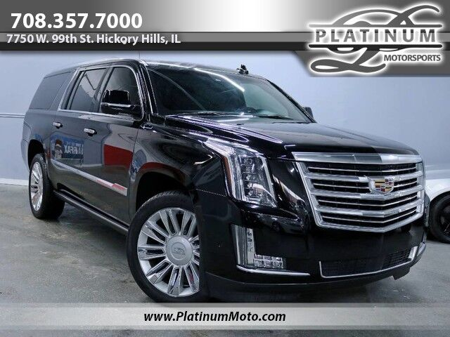 2017 Cadillac Escalade ESV Platinum 1 Owner Tv's Nav Bucket Seats Fully Loaded Hickory Hills IL