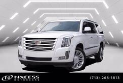 2017_Cadillac_Escalade ESV_Platinum 4WD 30K Miles Extra Clean._ Houston TX