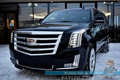 2017_Cadillac_Escalade ESV_Premium Luxury / 4WD / Heated Leather Seats & Steering Wheel / Navigation / Sunroof / Bose Speakers / Auto Start / 3rd Row / Seats 8 / Rear Entertainment / HUD / Blind Spot & Collision Alert / Tow Pkg / 1-Owner_ Anchorage AK