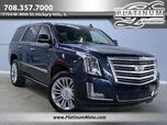 2017 Cadillac Escalade Platinum 4WD 1 Owner Nav Roof TV's Fully Loaded