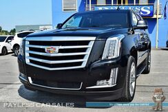 2017_Cadillac_Escalade_Premium / AWD / Heated & Ventilated Leather Seats / Heated Steering Wheel / Auto Start / Navigation / Sunroof / Bose Speakers / Blind Spot & Lane Alert / 3rd Row / Seats 7 / Back Up Camera / Bluetooth / Rear Entertainment / Tow Pkg_ Anchorage AK