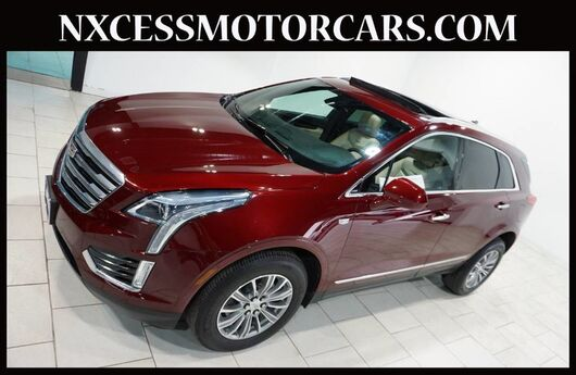 2017 Cadillac XT5 Luxury NAVIGATION PANO-ROOF 1-OWNER. Houston TX