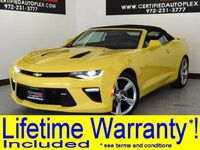 Chevrolet CAMARO CONVERTIBLE SS 6.2L V8 REAR CAMERA PADDLE SHIFTERS POWER LOCKS POWER SEATS POWER WINDOW 2017