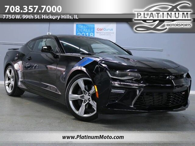 2017 Chevrolet Camaro 2ss 1 Owner Auto Roof Back Up Camera Hickory Hills Il