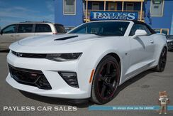 2017_Chevrolet_Camaro_SS / 6.2L V8 / Convertible / Automatic / Magnetic Ride Control / Navigation / Heated Leather Seats & Steering Wheel / Auto Start / Heads Up Display / Bose Speakers / Bluetooth / Back-Up Camera / Only 2K Miles / 1-Owner_ Anchorage AK