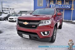 2017_Chevrolet_Colorado_Z71 / Off-Road Pkg / 4X4 / Crew Cab / Auto Start / Power & Heated Front Seats / Bluetooth / Back Up Camera / Matching Leer Canopy / Bed Liner / Tow Pkg / 1-Owner_ Anchorage AK