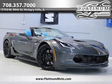 2017_Chevrolet_Corvette Grand Sport 3LT_1 Owner #469 Collector Edition Auto Nav HUD Loaded MSRP $87,010_ Hickory Hills IL