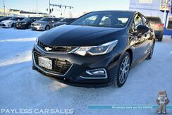 2017_Chevrolet_Cruze_LT / RS Pkg / 6-Spd Manual / Power & Heated Cloth Seats / Bluetooth / Back Up Camera / Keyless Entry & Start / Aluminum Wheels / Power Mirrors Windows & Locks / Cruise Control / 39 MPG / 1-Owner_ Anchorage AK