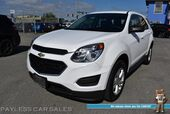 2017 Chevrolet Equinox LS / AWD / Power Driver's Seat / Aux Input / Back Up Camera / Cruise Control / Aluminum Wheels / 28 MPG
