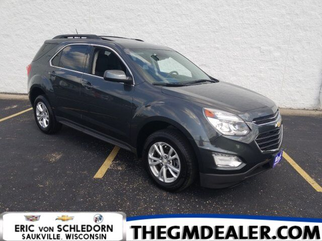 2017 Chevrolet Equinox LT FWD 2.4L ConveniencePkg w/Sunroof HtdCloth MyLink RearCamera Milwaukee WI