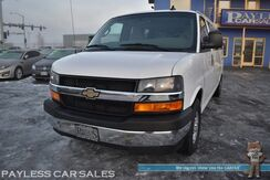 2017_Chevrolet_G3500_Extended Express Van LT / 12 Passenger / 4.8L V8 / Power Driver's Seat / Cruise Control / USB & Aux Jacks / Power Mirrors Windows & Locks / Front & Rear Air Conditioning / 1-Owner_ Anchorage AK