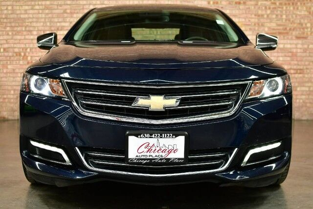 2017 Chevrolet Impala Premier - 3.6L V6 ENGINE FRONT WHEEL DRIVE NAVIGATION BACKUP CAMERA KEYLESS GO PANO ROOF BLACK LEATHER HEATED/COOLED SEATS BOSE AUDIO XENONS BLUETOOTH Bensenville IL