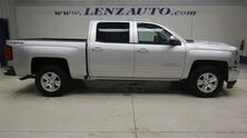 Chevrolet Silverado 1500 4x4 Crew Cab LT: 5.3L-TRUE NORTH-SHORT-REVERSE CAMERA-WIFI-CLOTH-CD PLAYER-4X4 2017