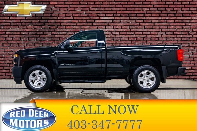 2017 Chevrolet Silverado 1500 4x4 Regular Cab Ls Short Box Bcam Red Deer Ab 34053949