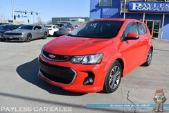 2017_Chevrolet_Sonic Hatchback_LT / RS Pkg / Automatic / Auto Start / Power Mirrors Windows & Locks / Bluetooth / Back Up Camera / Cruise Control / Aluminum Wheels / Rear Spoiler / 35 MPG_ Anchorage AK