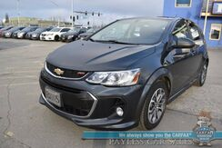 2017_Chevrolet_Sonic_LT / Automatic / Auto Start / Bluetooth / Back Up Camera / Cruise Control / 34 MPG_ Anchorage AK