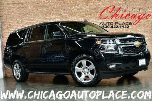 2017 Chevrolet Suburban LT - 1 OWNER 4 WHEEL DRIVE NAVIGATION SYSTEM BACKUP CAMERA KEYLESS GO BOSE AUDIO 3RD ROW SEATING BLINDSPOT DETECTION Bensenville IL