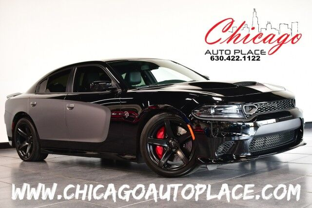 2017 Dodge Charger SRT Hellcat - 6.2L V8 SUPERCHARGED ENGINE NAVIGATION BACKUP CAMERA BLACK LEATHER HEATED/VENTED SEATS HEATED STEERING WHEEL KEYLESS GO Bensenville IL