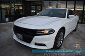 2017 Dodge Charger SXT / AWD / Rallye Pkg / Auto Start / Heated Seats / Sunroof / Beats Speakers / Blind Spot Alert / Bluetooth / Back Up Camera / Cruise Control / 27 MPG