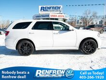2017_Dodge_Durango_AWD R/T, Rear DVD, Technology Group, 2nd Row Bucket Seats, Heated Leather, SiriusXM, Bluetooth_ Calgary AB