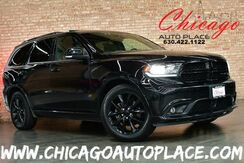 2017_Dodge_Durango_R/T - 5.7L V8 HEMI VVT ENGINE 1 OWNER ALL WHEEL DRIVE NAVIGATION BACKUP CAMERA BEATS AUDIO REAR TVS 3RD ROW SEATING SUNROOF BLACK LEATHER HEATED SEATS_ Bensenville IL