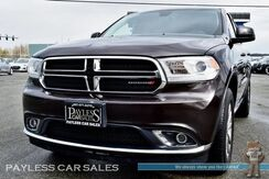 2017_Dodge_Durango_SXT / AWD / Power & Heated Seats / Heated Steering Wheel / Uconnect Bluetooth / Back Up Camera / 3rd Row / Seats 7 / 1-Owner_ Anchorage AK