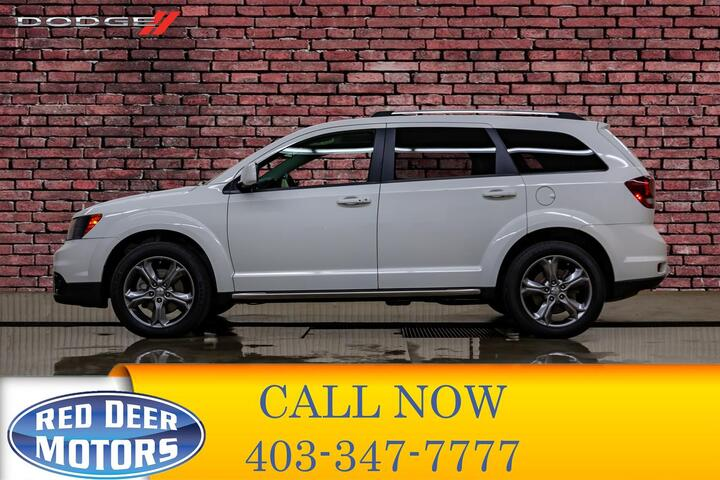 2017 Dodge Journey AWD Crossroad Leather Roof DVD Red Deer AB