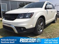 Dodge Journey Crossroad AWD, Heated Seats, DVD Screen, Backup Camera, 3rd Row Seating 2017