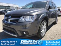 Dodge Journey GT AWD, Backup Camera, Sunroof, Leather Wrapped Steering Wheel 2017