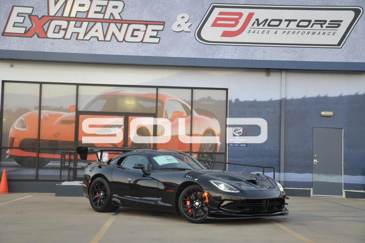 2017 Dodge Viper ACR EXTREME Tomball TX