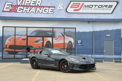 2017 Dodge Viper ACR Extreme GTC Solid Graphite Tomball TX