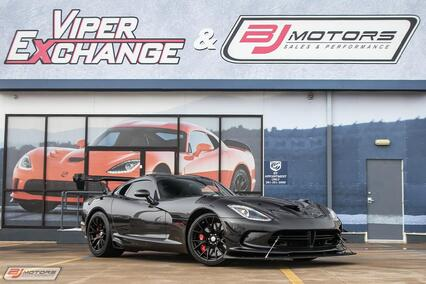 2017 Dodge Viper ACR Extreme GTC Solid Gunmetal Tomball TX