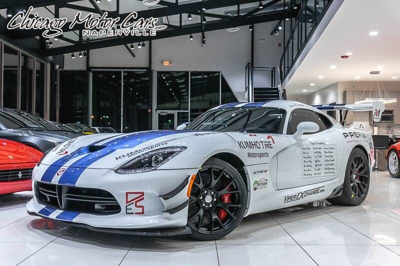 Vehicle Details 2017 Dodge Viper Acr At Chicago Motor Cars Of Naperville