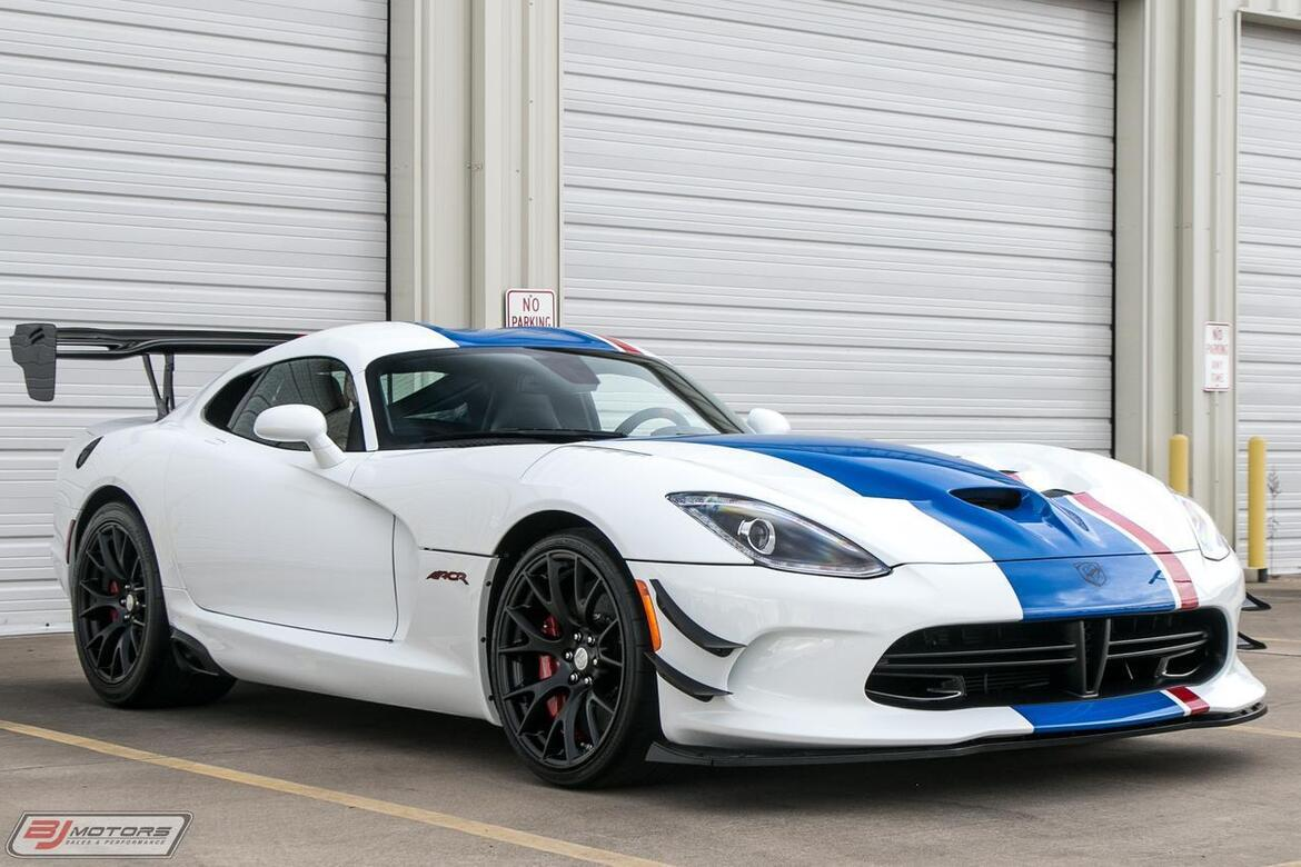 2017 Dodge Viper Dealer Edition GTC Tomball TX