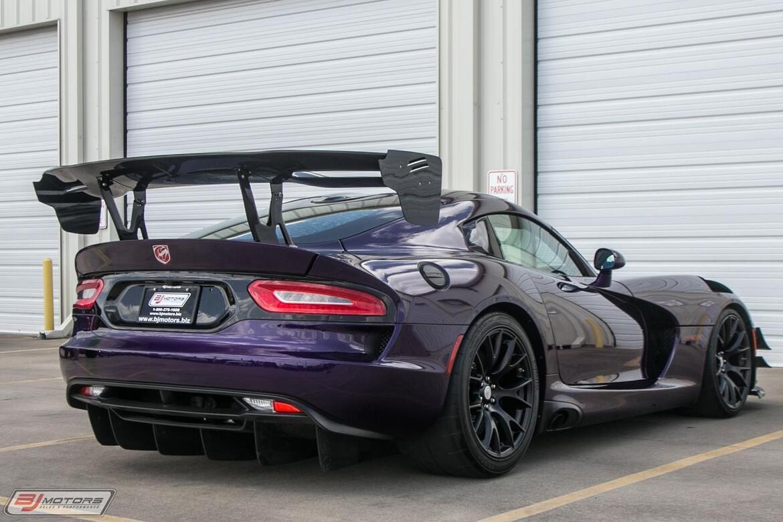 2017 Dodge Viper GTC ACR-E Calvo Motorsports Tomball TX