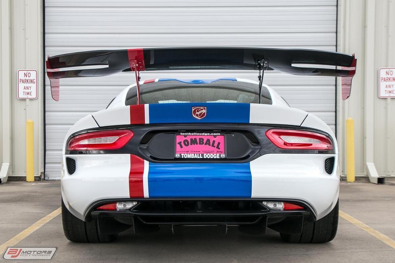2017 Dodge Viper GTC Dealer Edition #03 600 Miles Tomball TX
